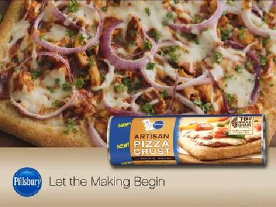bbq chicken pizza video