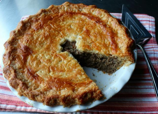 tourtiere french canadian meat pie video