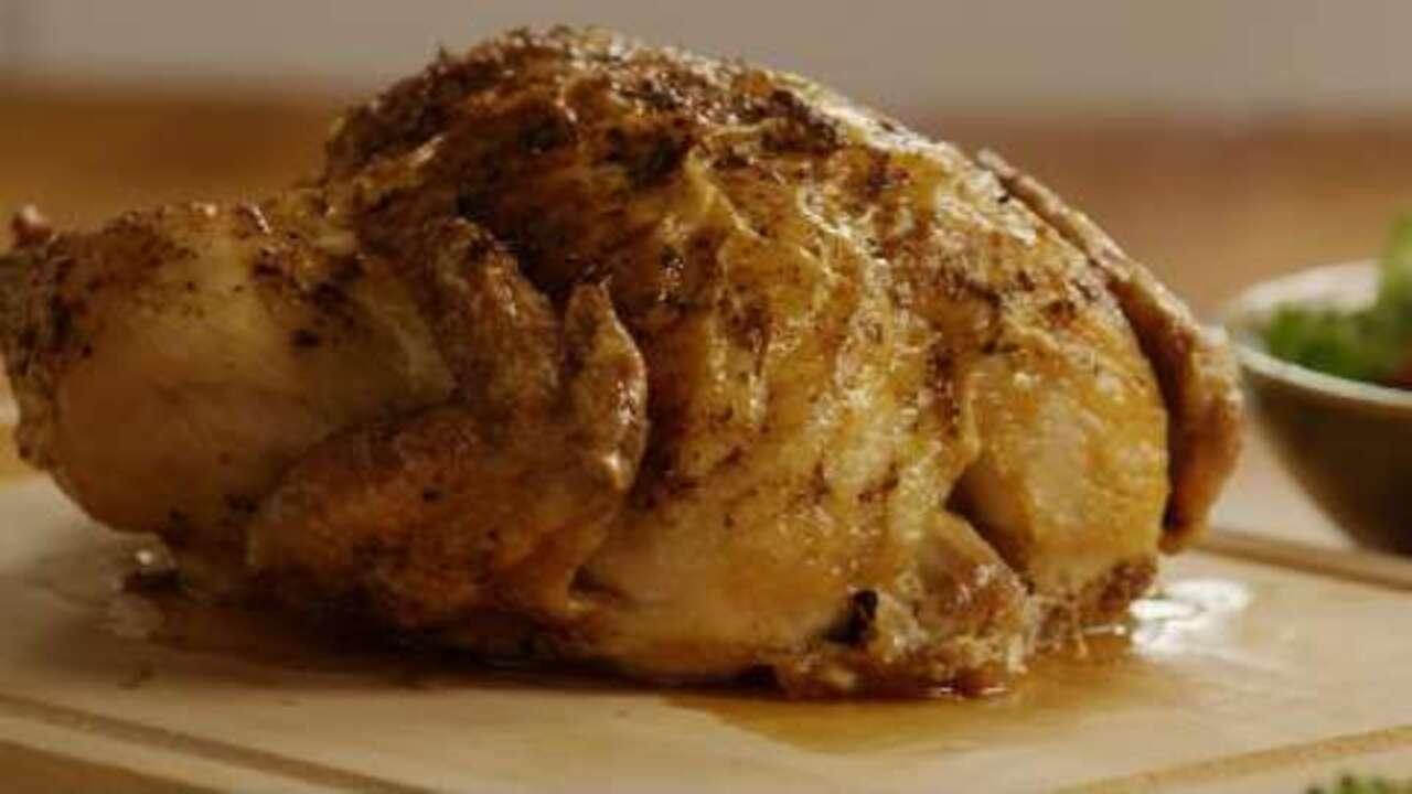 spicy rapid roast chicken video