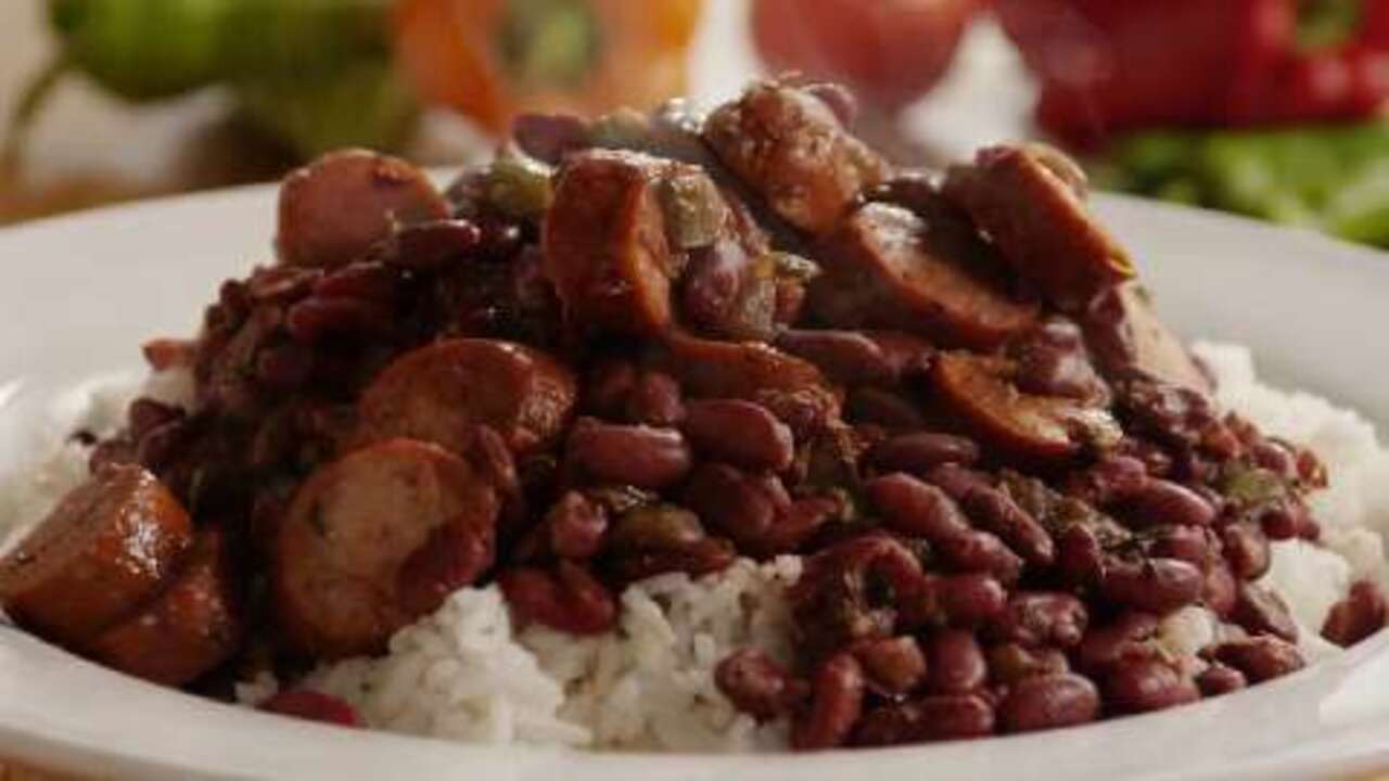 authentic louisiana red beans and rice video