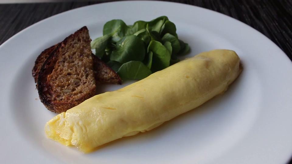 Chef John S French Omelette Video Allrecipes Com
