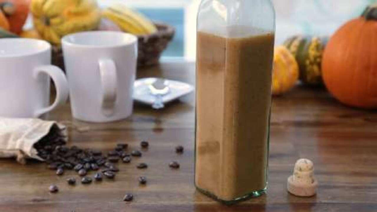 pumpkin spice coffee syrup video