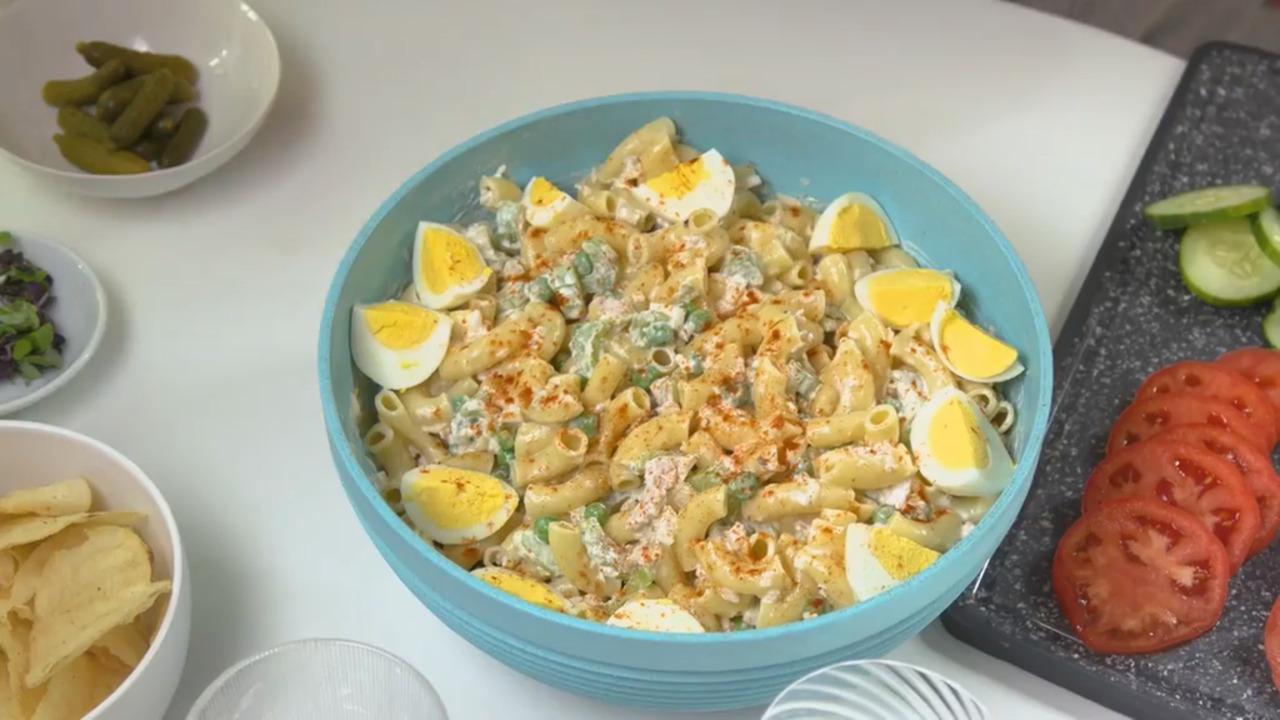amelias tuna macaroni salad video