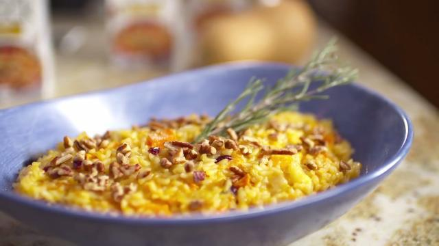 Roasted Butternut Orange Risotto Video