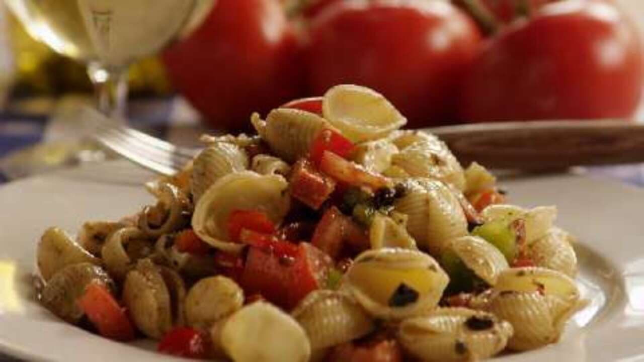 antipasto pasta salad video
