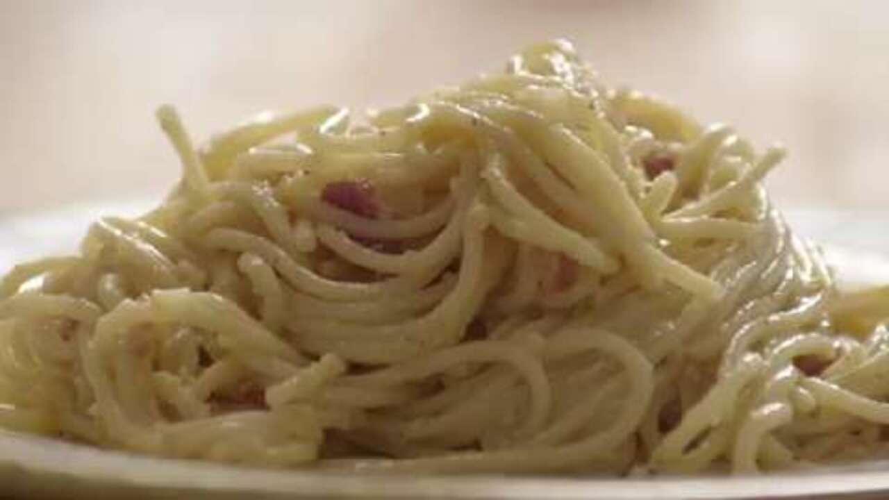 How to Make Spaghetti alla Carbonara Video - Allrecipes.com