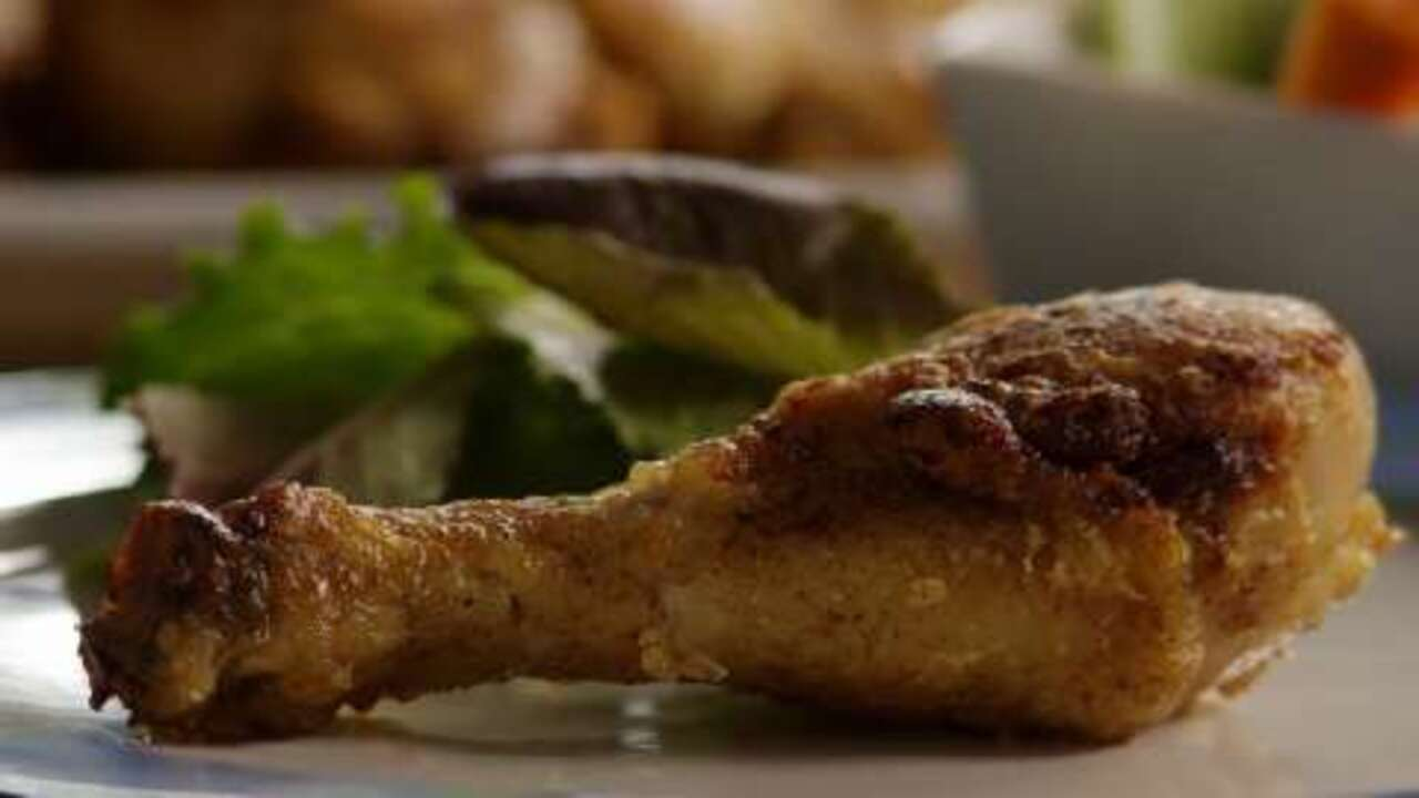 easy shake and bake chicken video