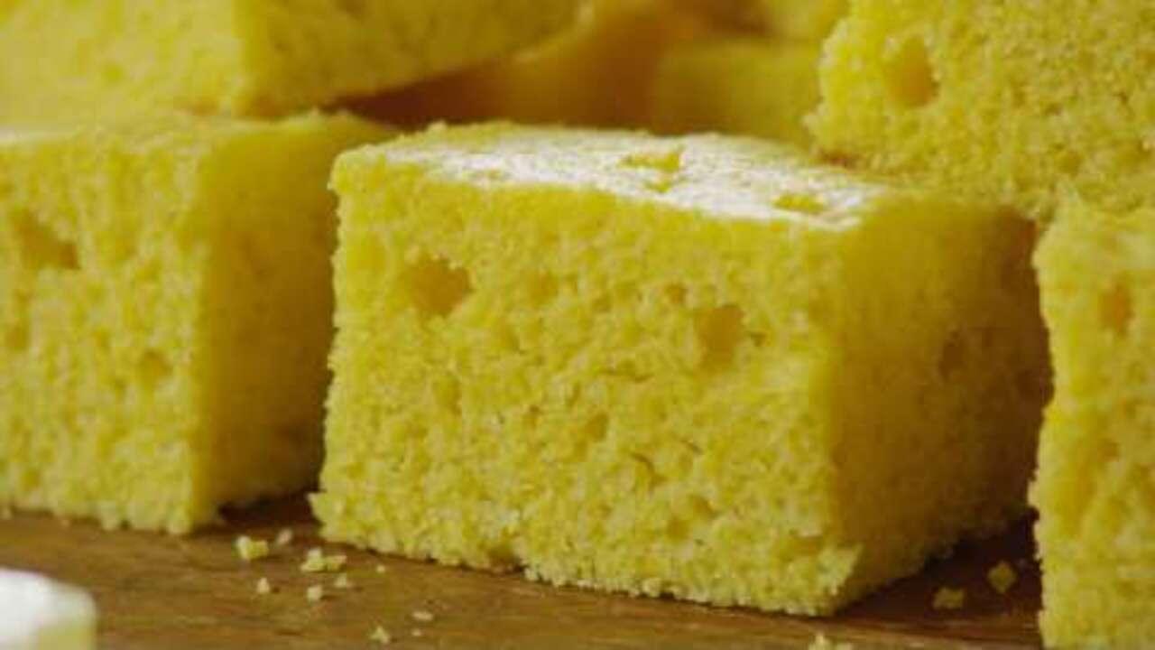 sweet corn bread video