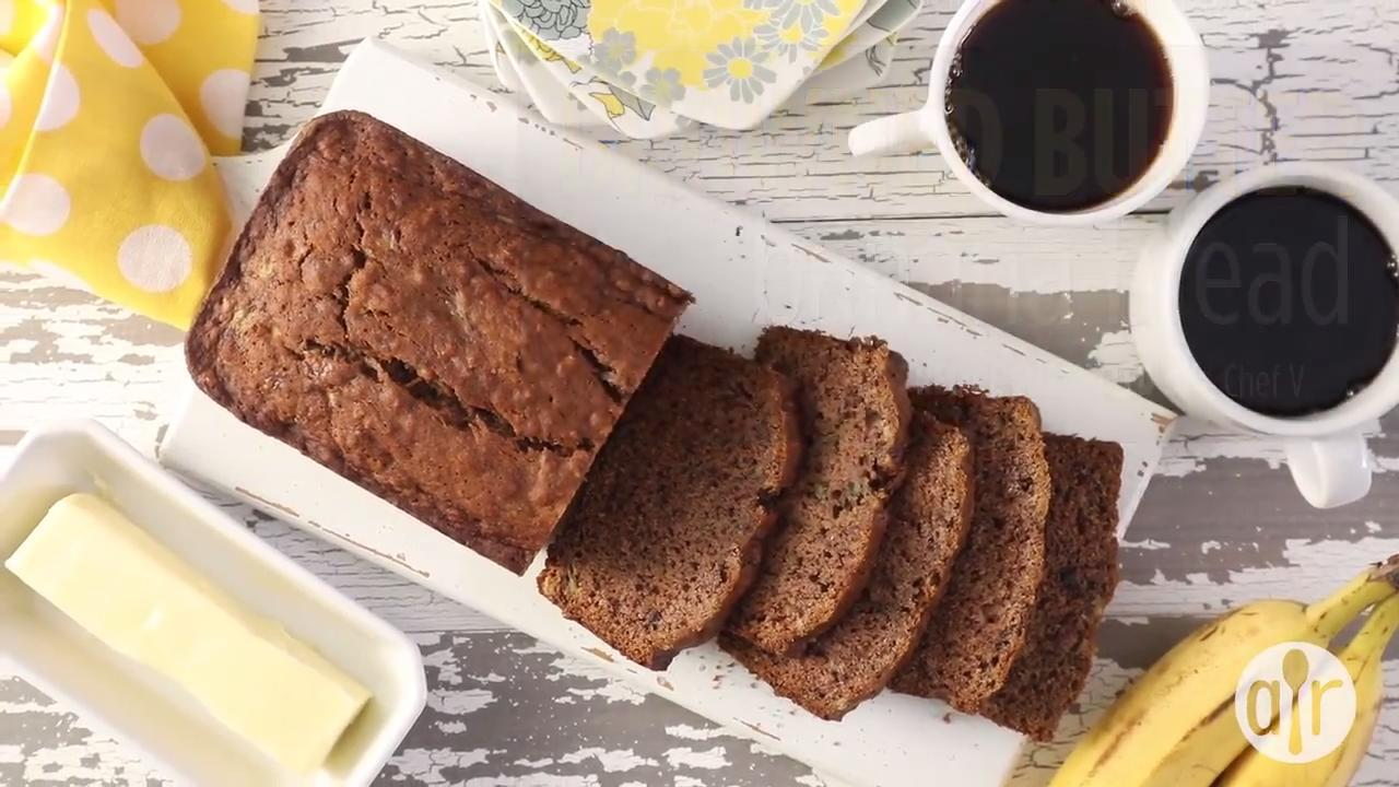 browned butter banana bread video