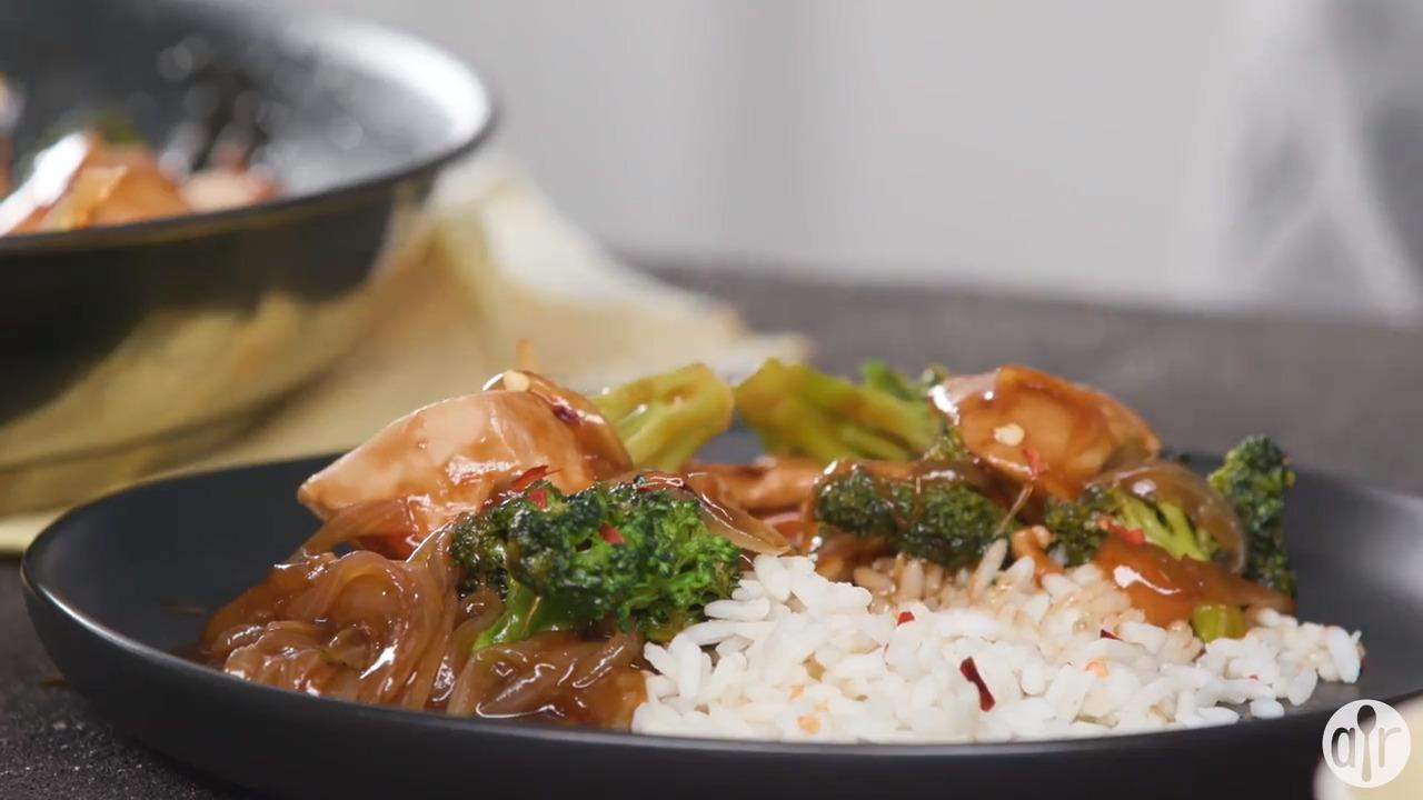 broccoli and chicken stir fry video