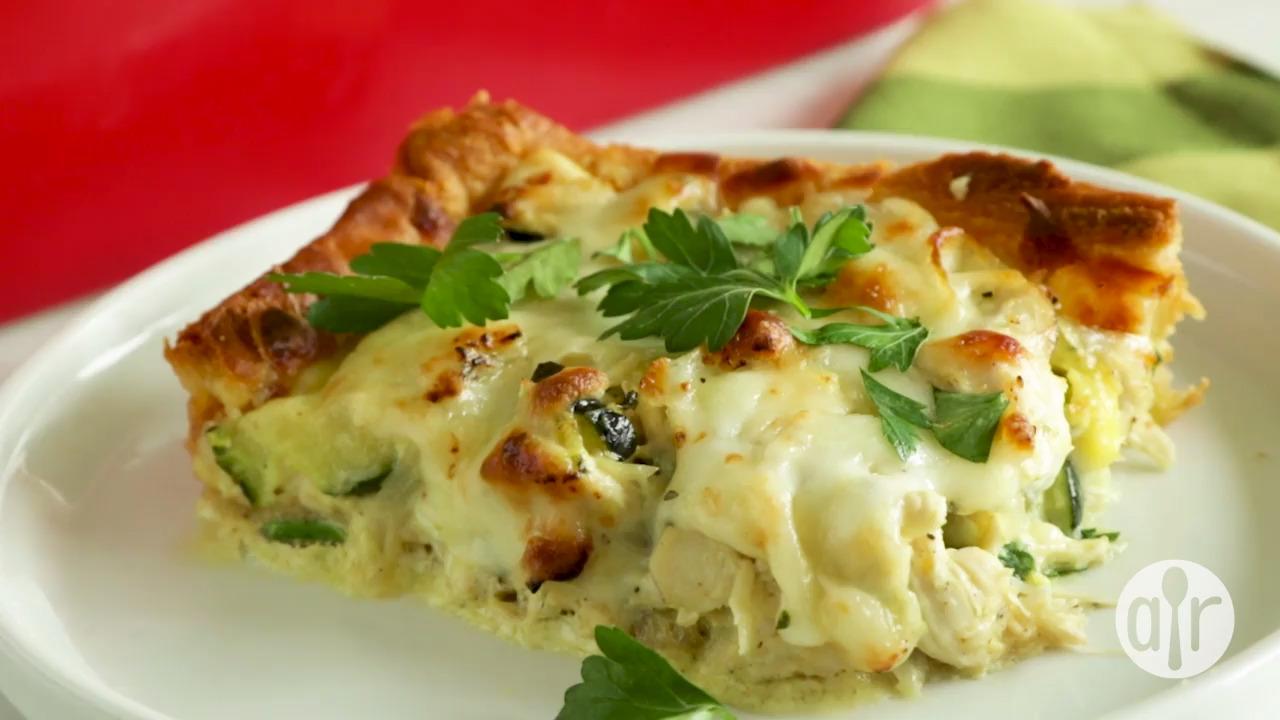 chicken zucchini bake video