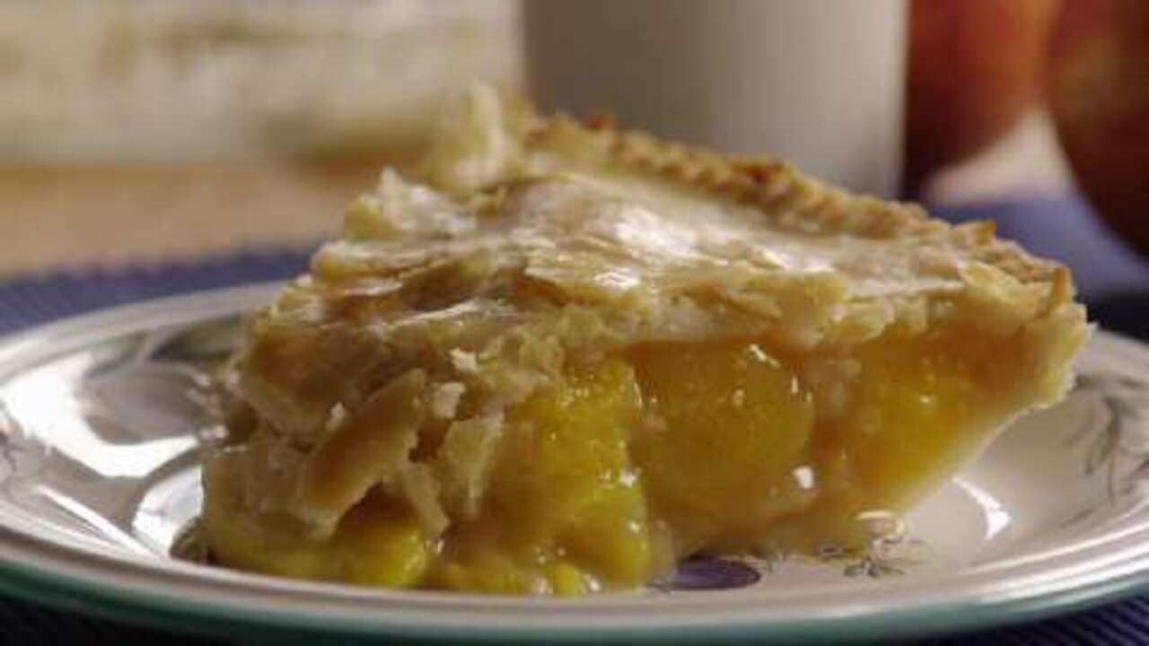 peach pie the old fashioned two crust way video