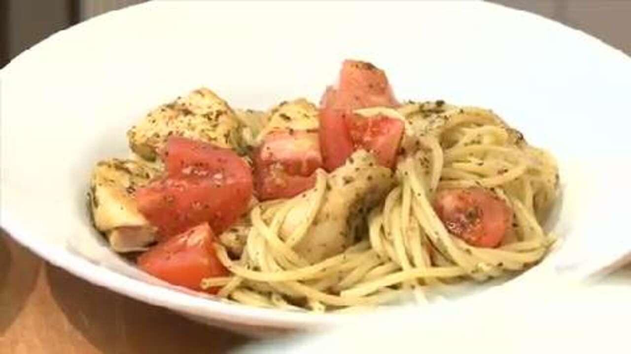 sweet basil oregano bruschetta chicken video