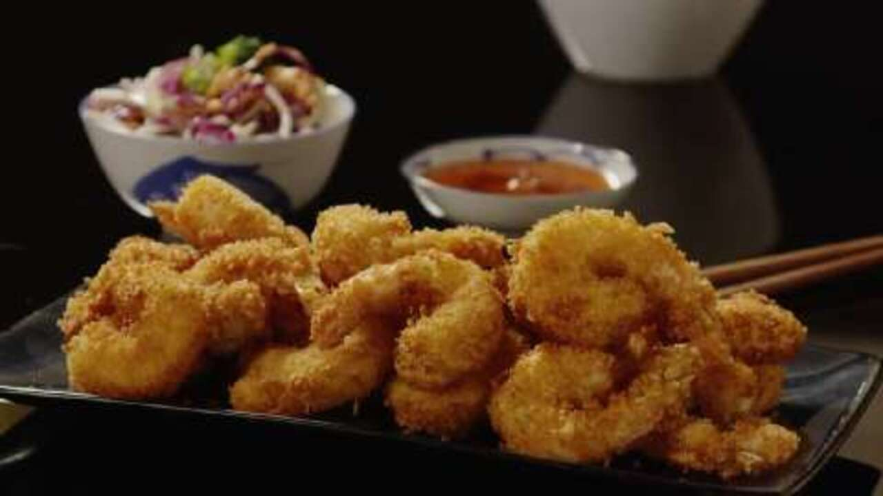 Japanese Style Deep Fried Shrimp Recipe Allrecipes Com