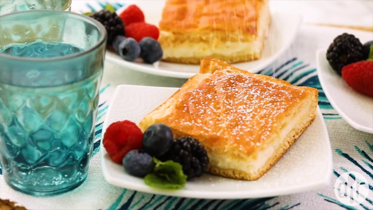 breakfast cheesecake video