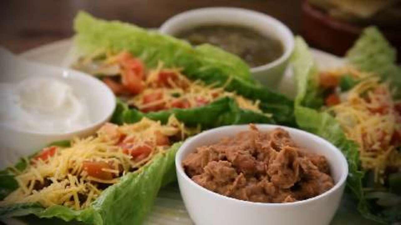 lettuce leaf tacos video