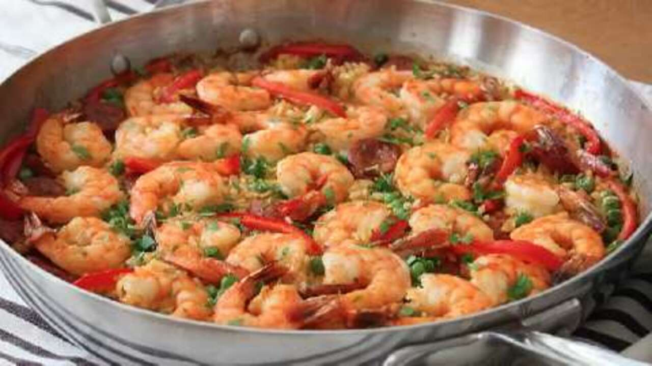 quick and easy paella video