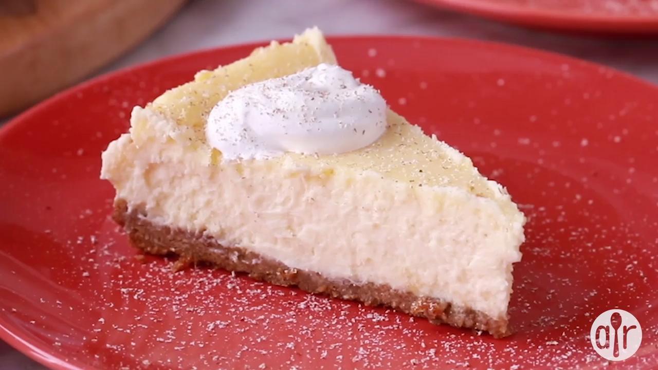 eggnog cheesecake iii video
