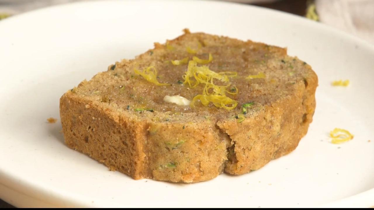 lemon zucchini bread video