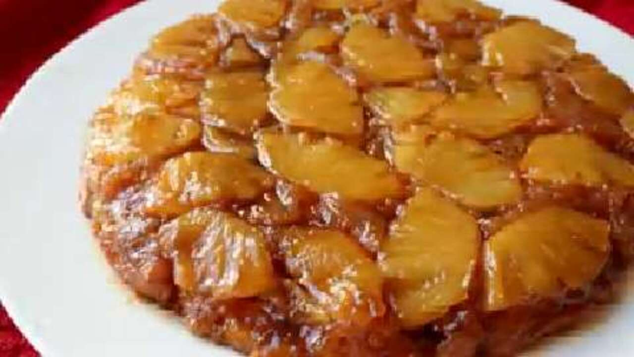 How to Make Pineapple Upside-Down Cake Video