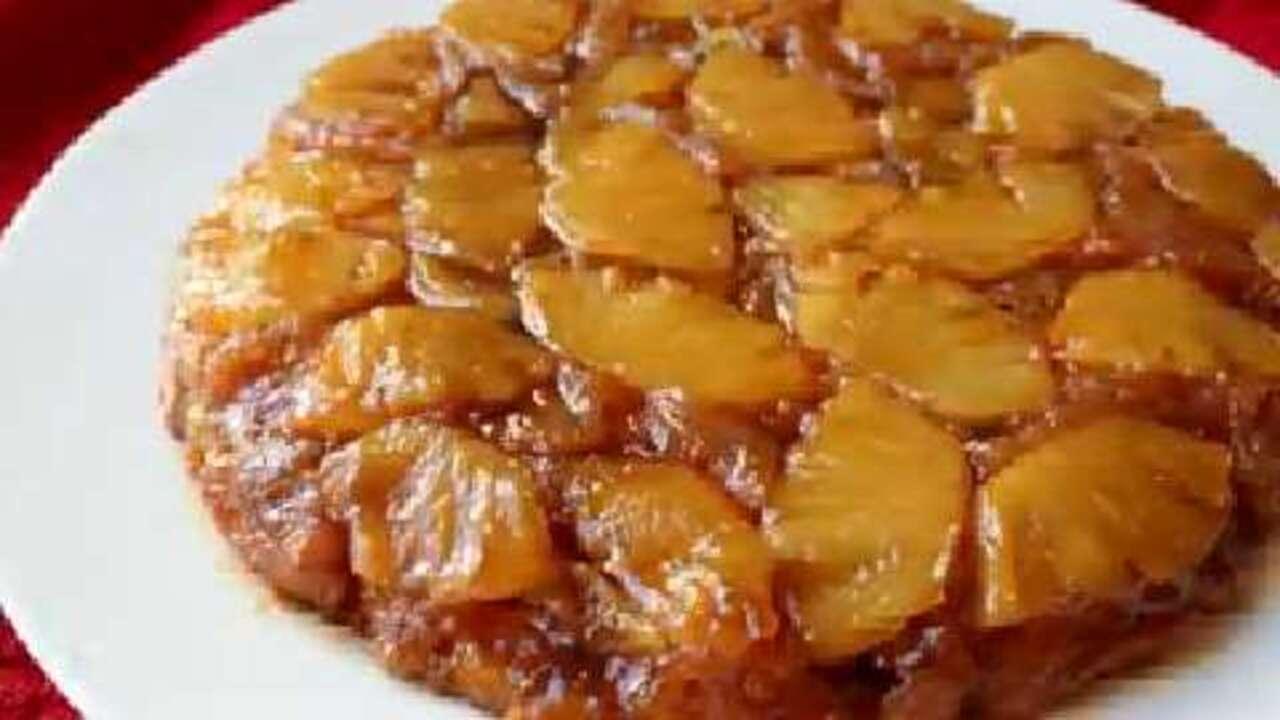 how to make pineapple upside down cake video