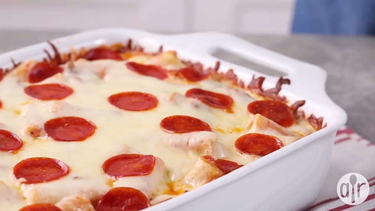 manicotti italian casserole video