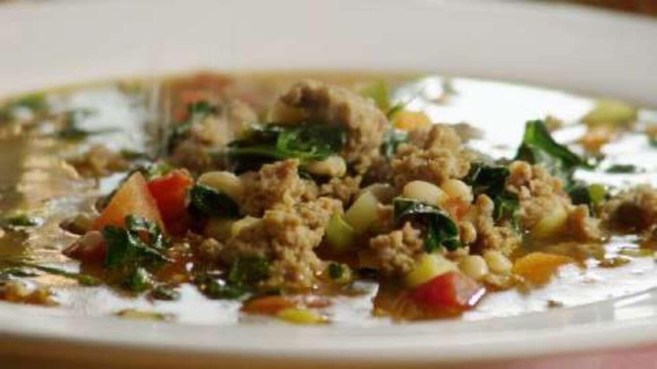 italian sausage soup video