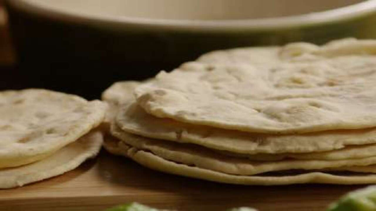Homemade Flour Tortillas Video