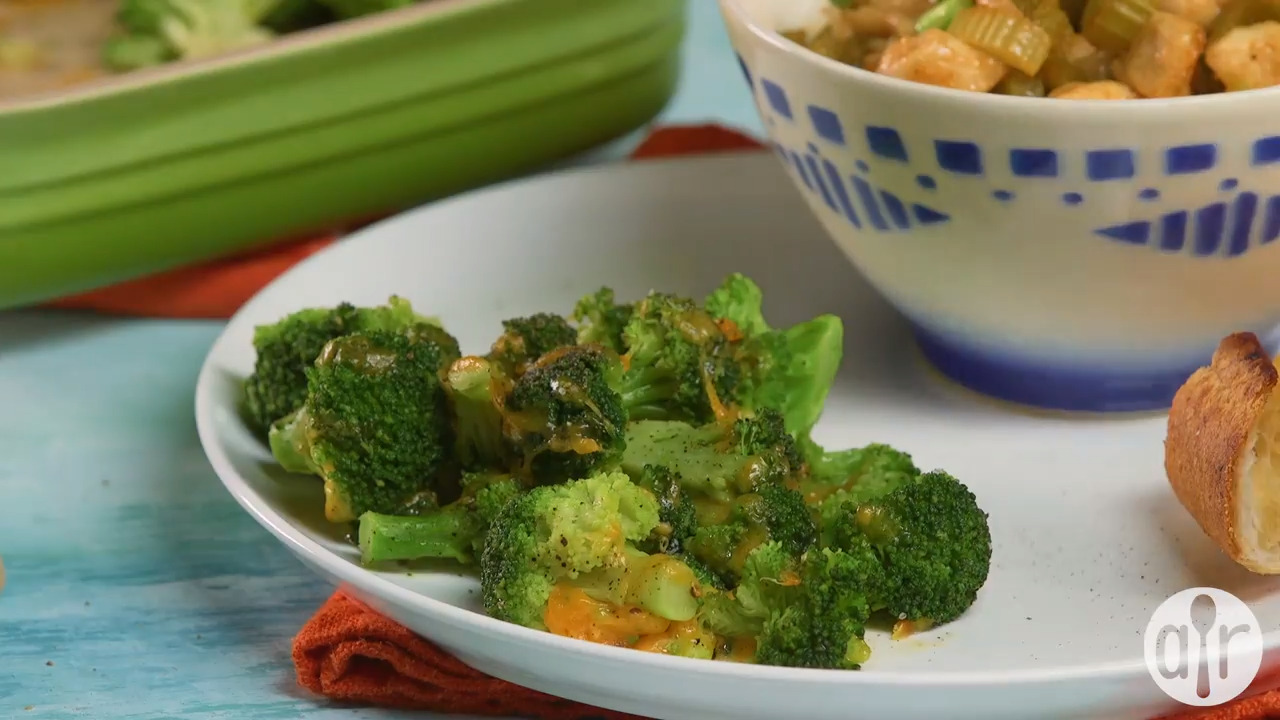 quick and simple broccoli and cheese video