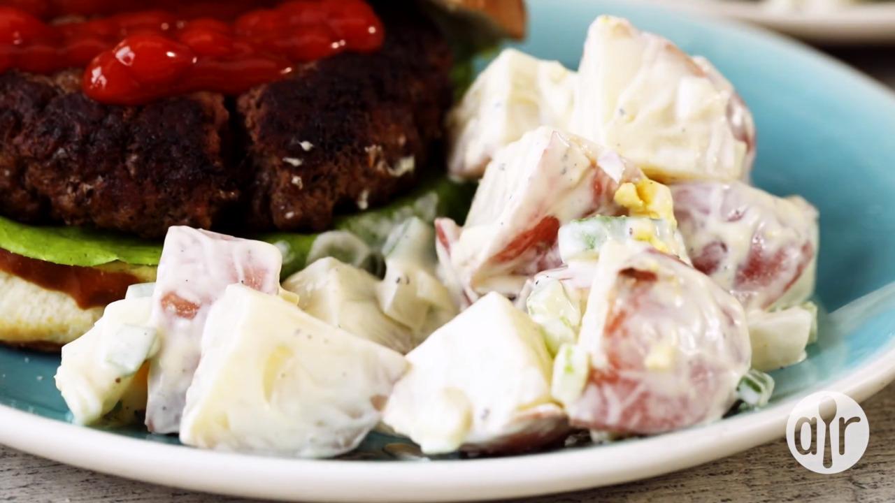 american potato salad video