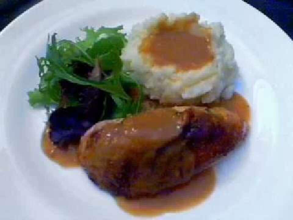 How To Make Roast Chicken Pan Gravy Video Allrecipes