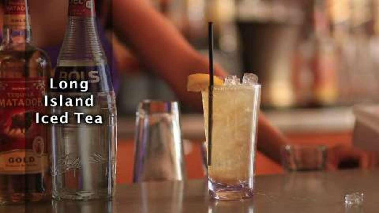 long island iced tea cocktail video