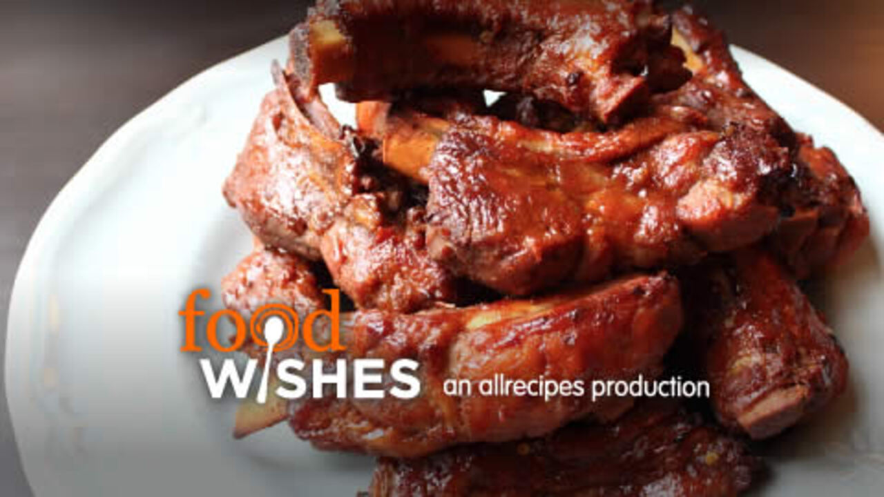 boiled and baked baby back ribs video