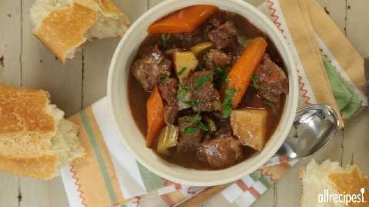 make ahead slow cooker beef stew video