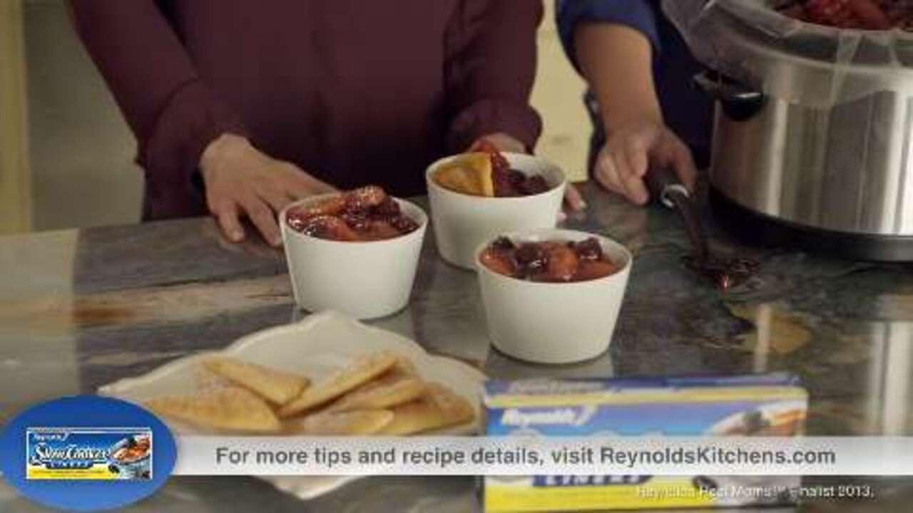 ashley whitneys tip for apple cherry cobbler video