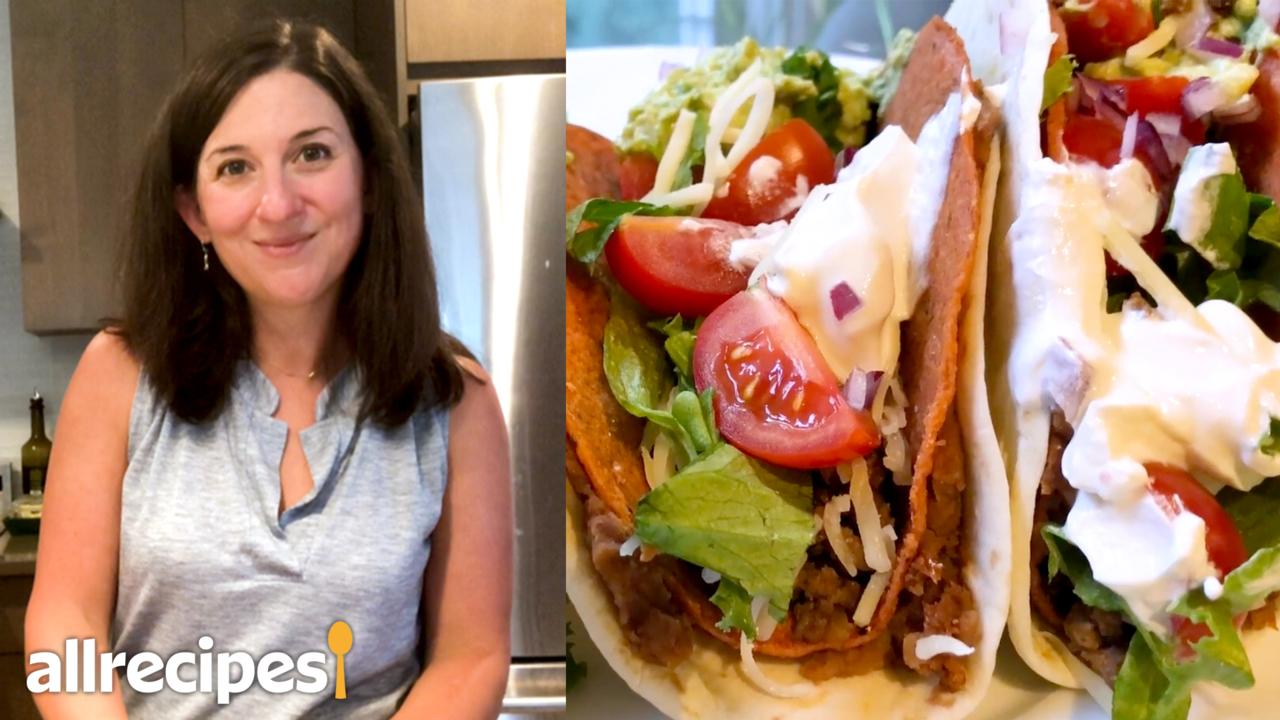 copycat taco bell double decker tacos video