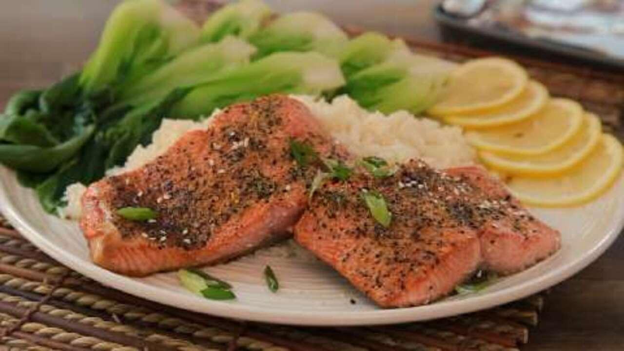 lemon pepper salmon ii video