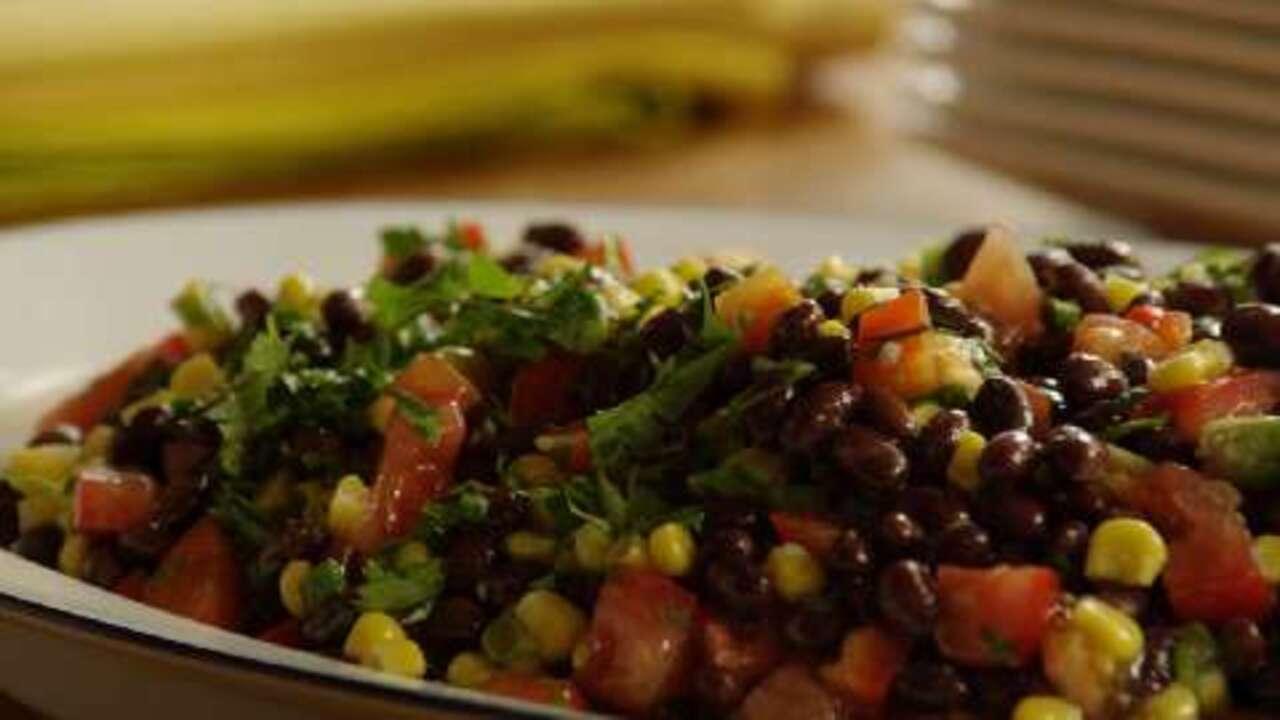 black bean and corn salad ii video