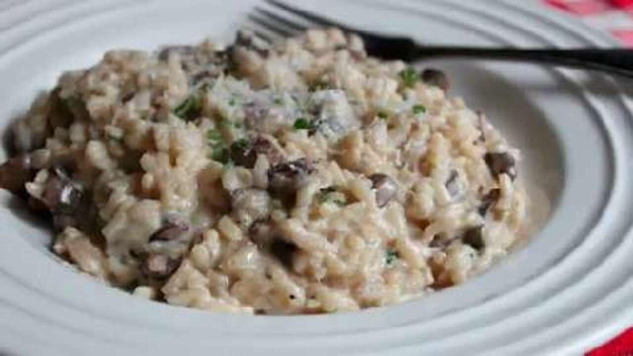 Chef John's Baked Mushroom Risotto Video