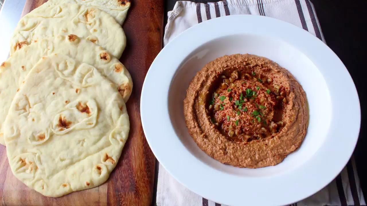 Muhammara (Roasted Pepper & Walnut Spread) Video