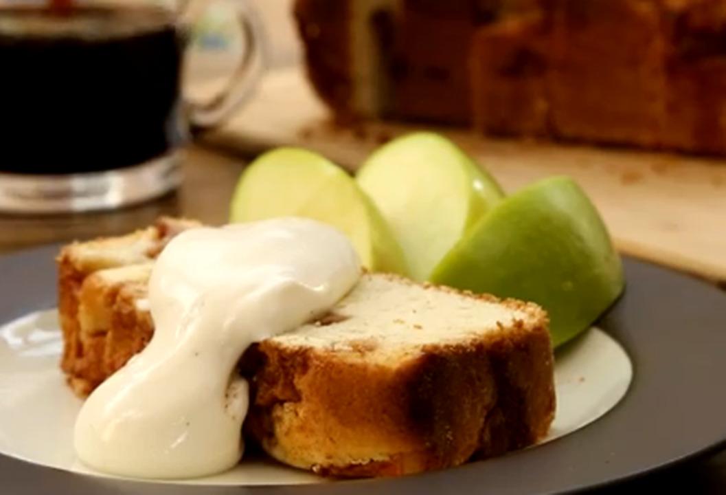 apple cinnamon white cake video