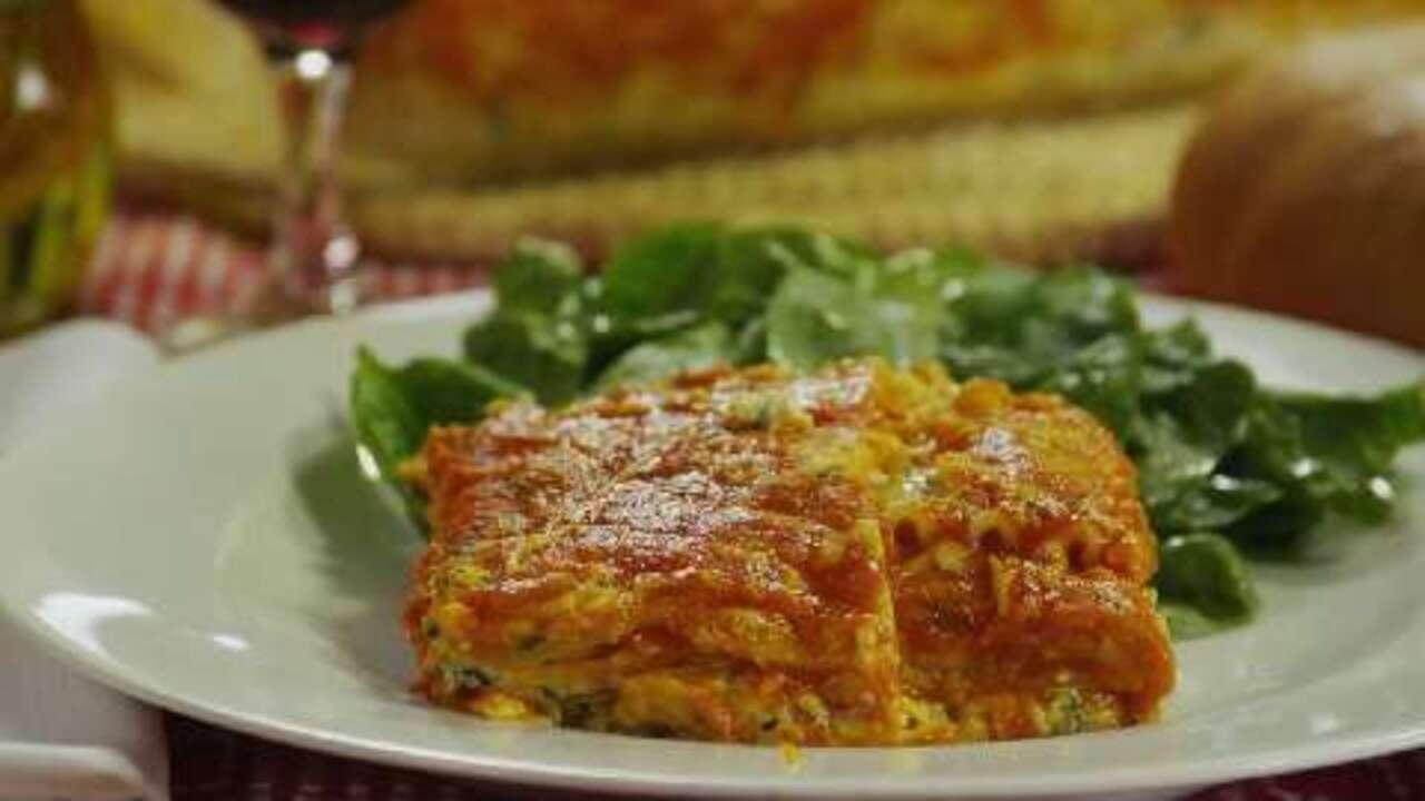 spinach lasagna iii video