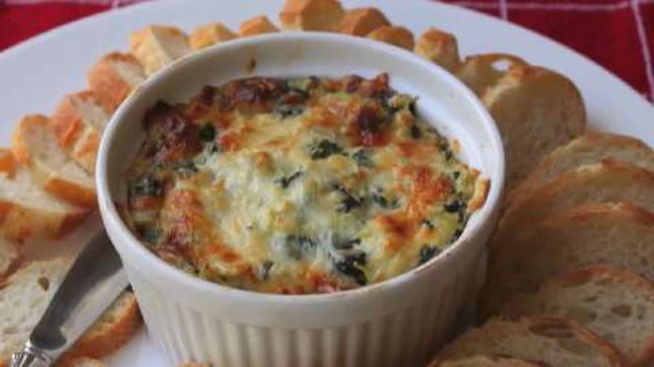 How to Make Spinach and Artichoke Dip Video