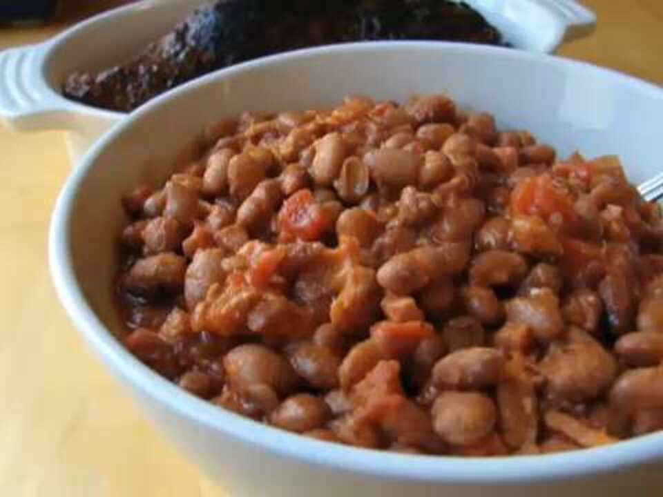 chef johns santa maria style beans video