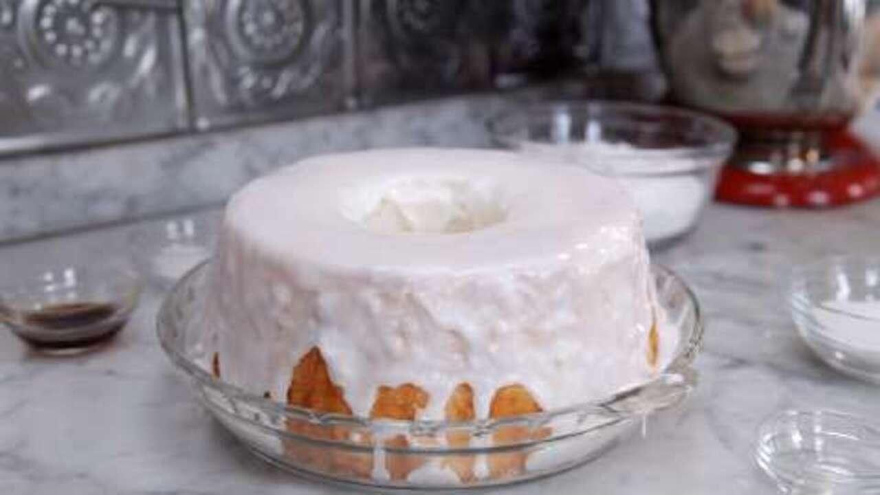 how to make angel food cake video