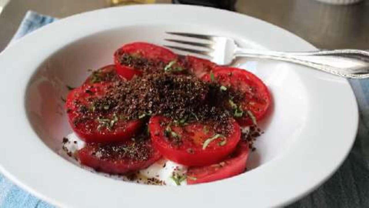 tomato dirt salad video