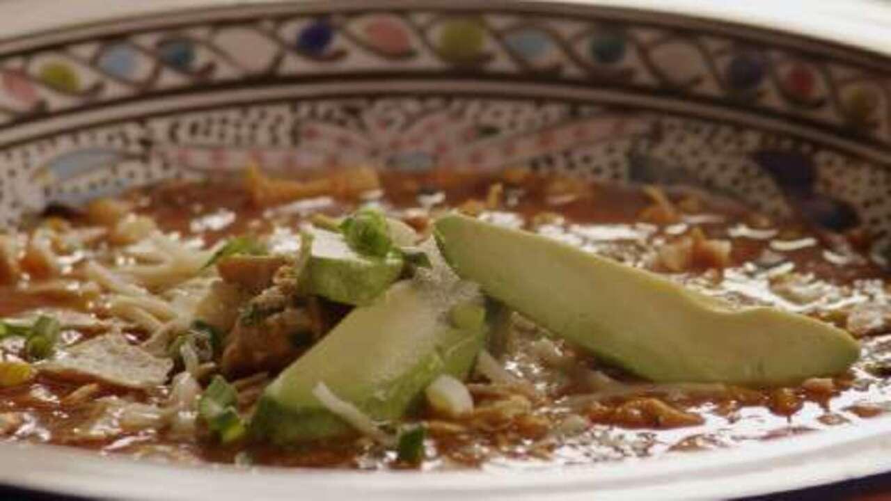 chicken tortilla soup i video