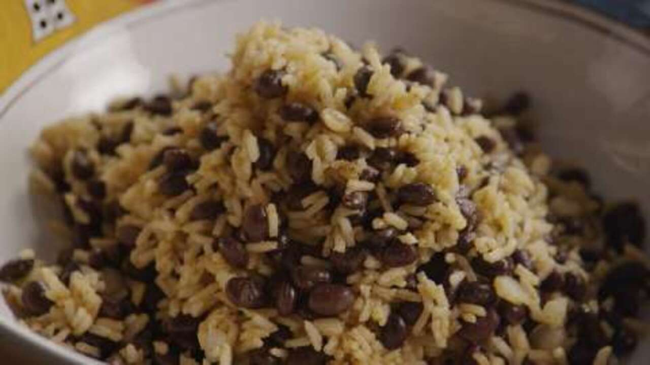 black beans and rice video