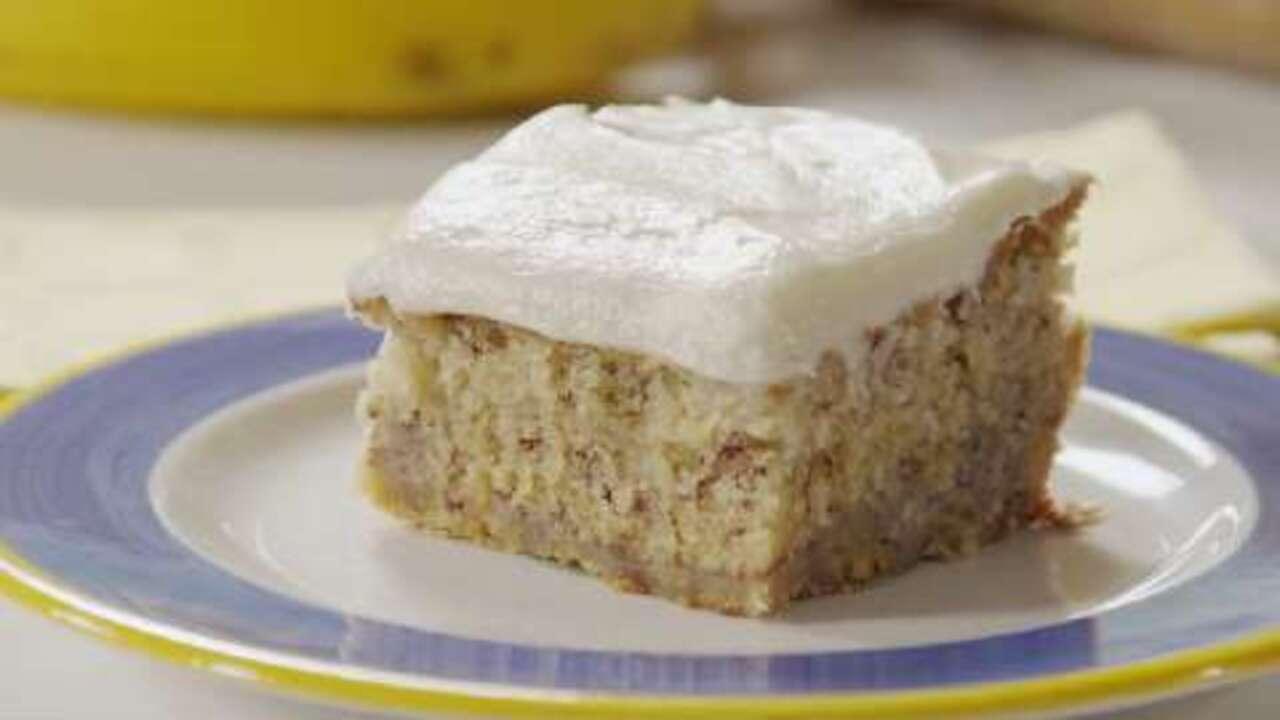 Diabetic Banana Cake Recipe