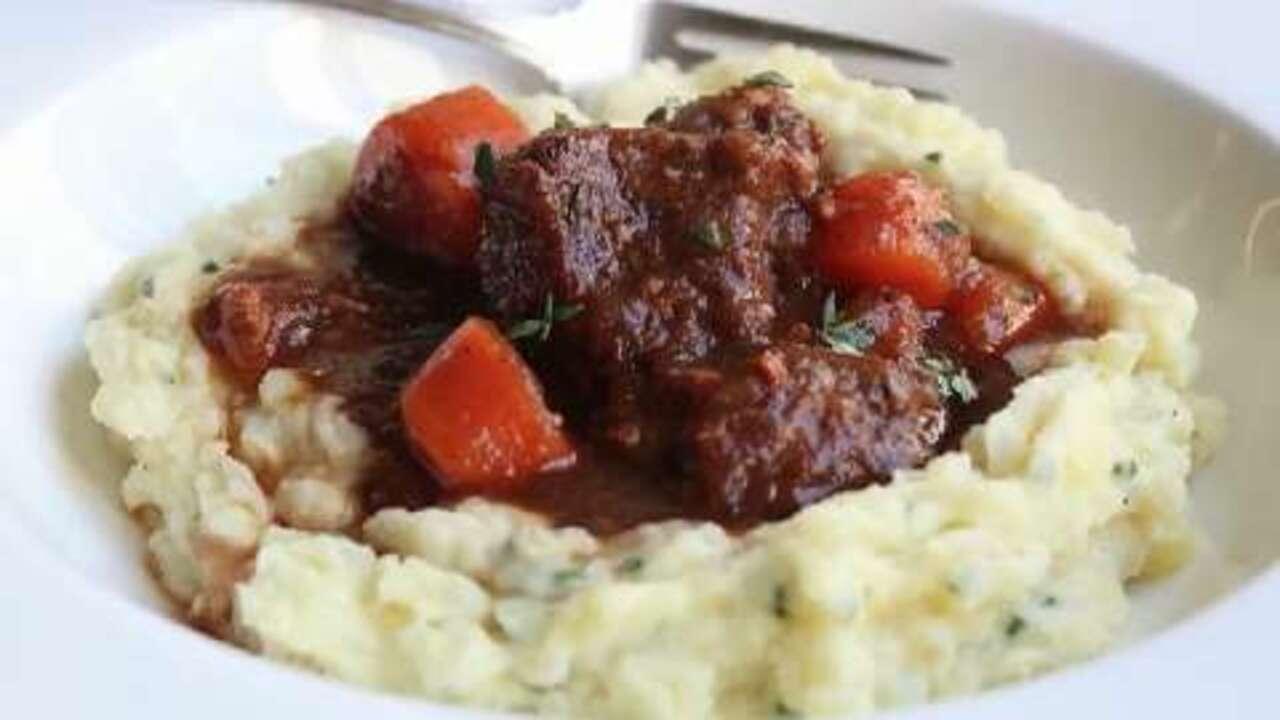 Beef Guinness Stew Video Allrecipes Com